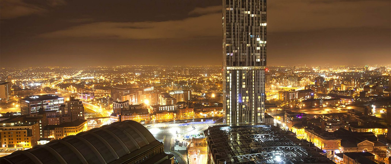 What's On In Manchester at night