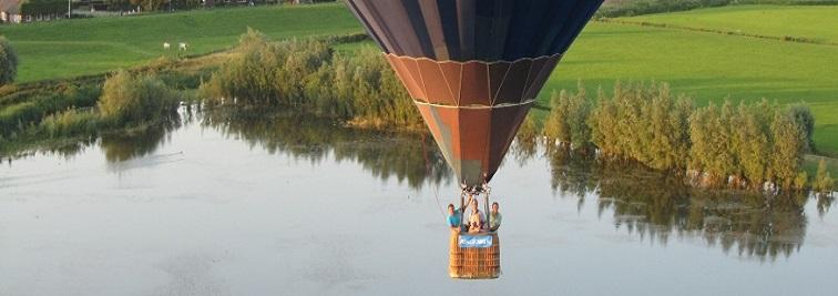 Hot air balloon flight from Manchester